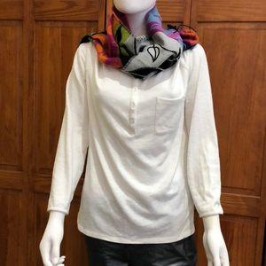 Prana Long Sleeve Cream colored shirt XL